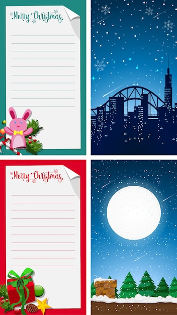 merry christmas greeting card background vertical vector free download