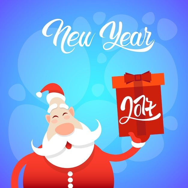 Merry Christmas Greeting Card Happy New Year Vector | Premium Download
