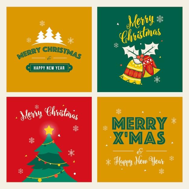Merry christmas greeting card vector premium download merry christmas greeting card premium vector m4hsunfo