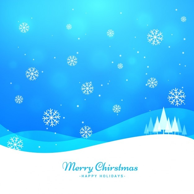 Merry christmas greeting Free Vector