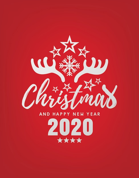 premium vector merry christmas and happy new year 2020 greeting card https www freepik com profile preagreement getstarted 5992126