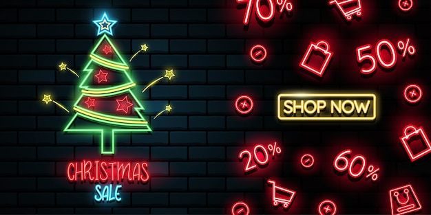Merry christmas and happy new year background. Premium Vector