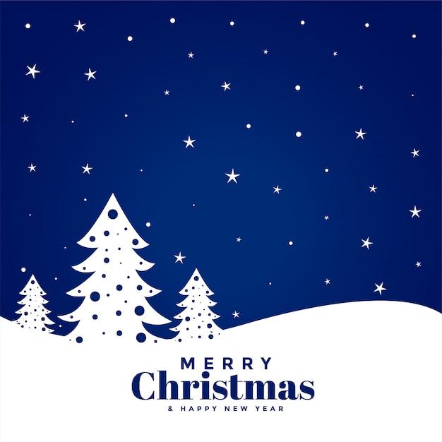 Cartoline Buon Natale E Felice Anno Nuovo.Cartolina D Auguri Di Buon Natale E Felice Anno Nuovo Vettore Gratis