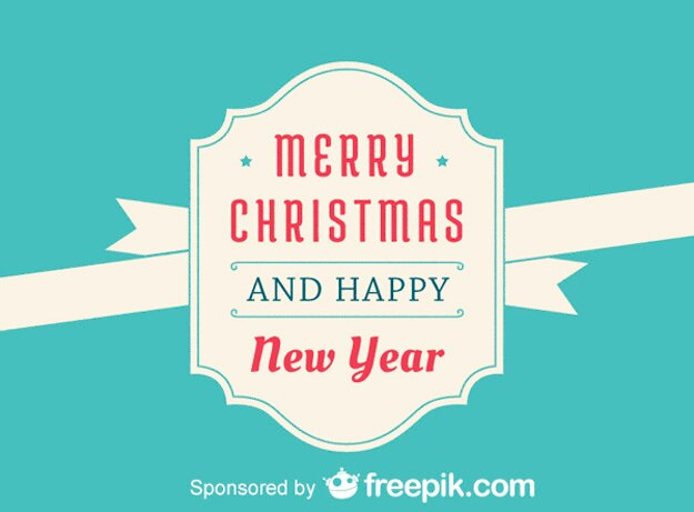 free vector merry christmas and and happy new year merry christmas and and happy new year