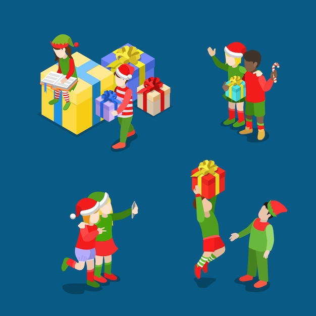 С рождеством христовым иллюстрация Бесплатные векторы