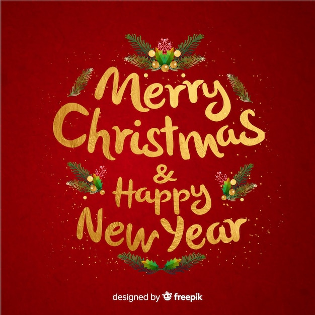free vector merry christmas lettering happy new year free vector merry christmas lettering