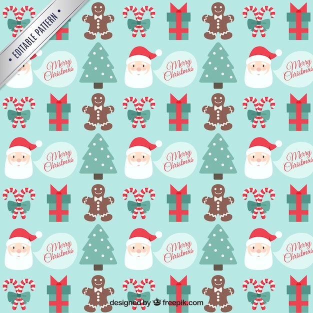 Merry Christmas Pattern Vector Free Download Custom Christmas Patterns