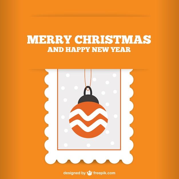 Merry Christmas retro vector