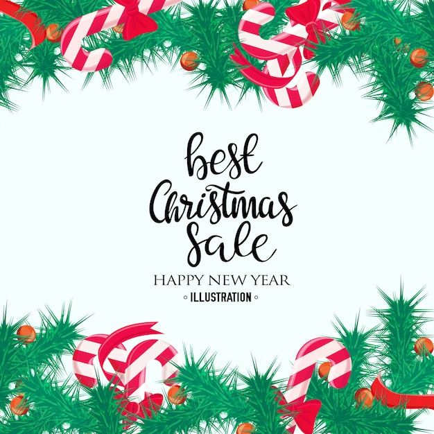 66f45add703b Merry christmas sale background. perfect decoration element for cards