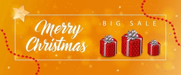 3a5604d8eea6 Merry christmas sale inscription