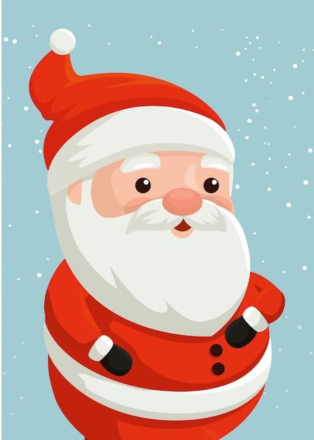 free vector merry christmas santa claus character merry christmas santa claus character
