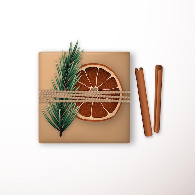 グリーティングカードのメリークリスマスベクトルテンプレート。 Premiumベクター
