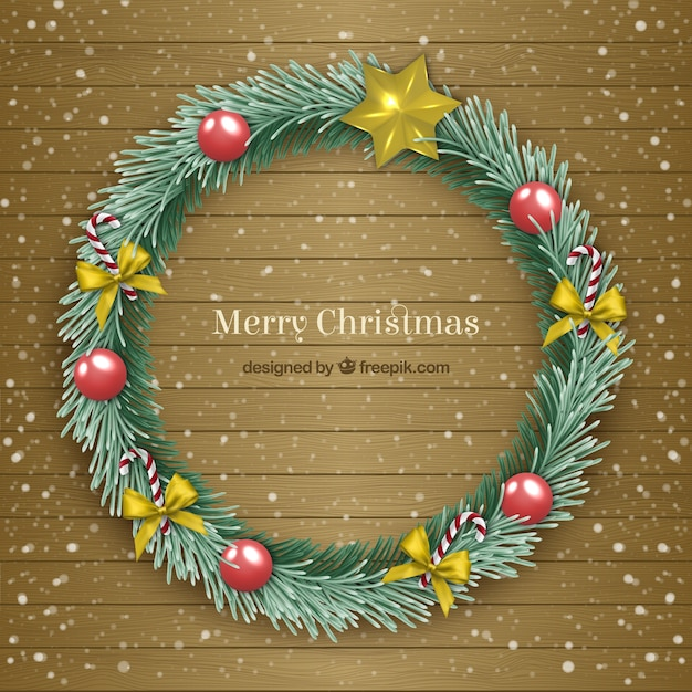 Christmas Wreath Images Free.Merry Christmas Wreath Vector Free Download