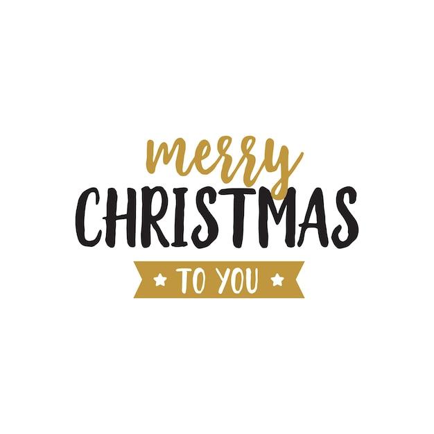 Merry Christmas To You.Merry Christmas To You Lettering Vector Free Download