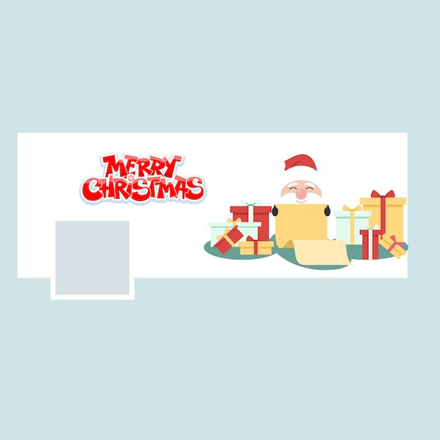 Merry christmas Premium Vector