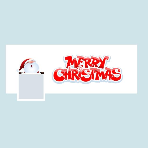Merry christmas Premium Vector