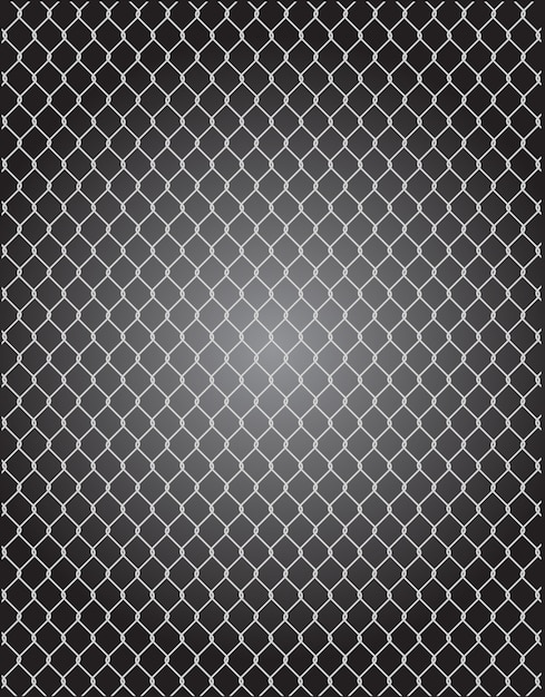 Mesh wire for fencing vector Premium Vector