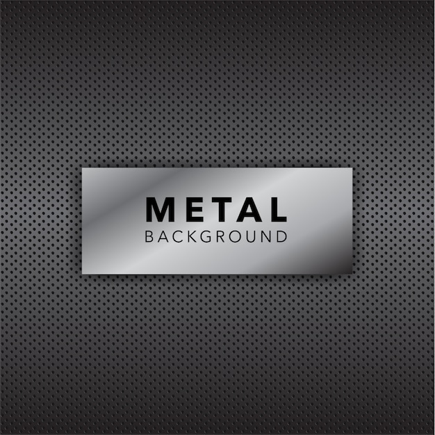 Metal background design