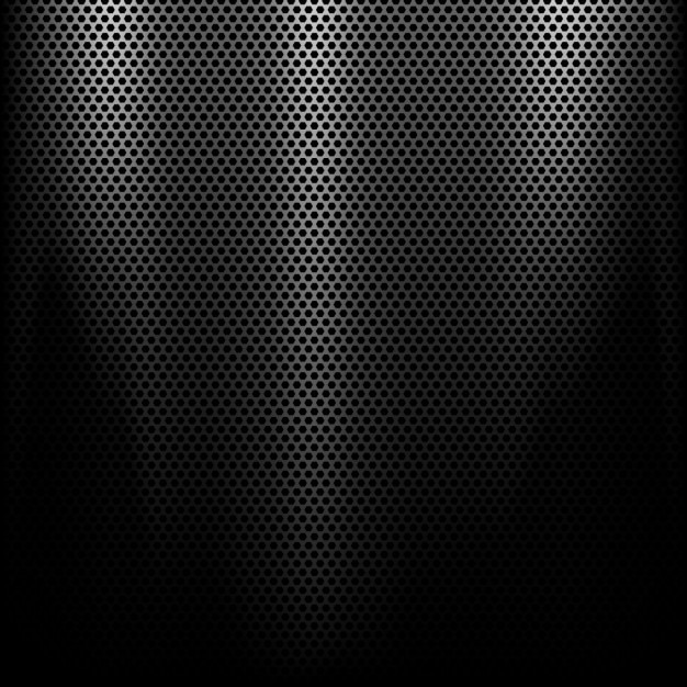 Metal background with a spotlight Free Vector