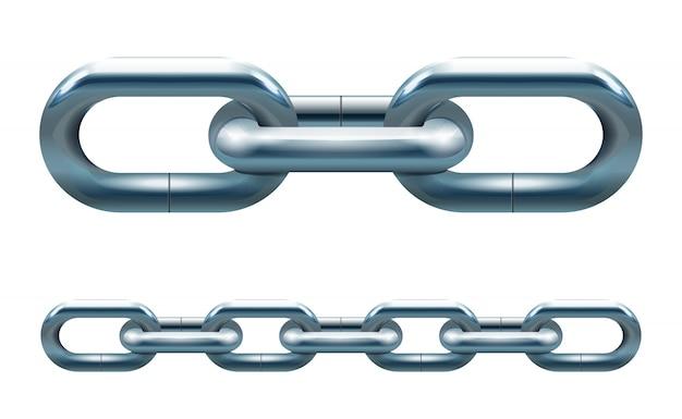 Metal chain Free Vector