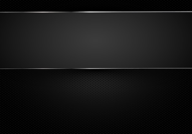 Metal perforated background with cut metal Premium Vector