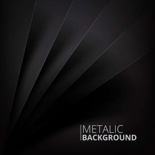 Metalic background design Free Vector
