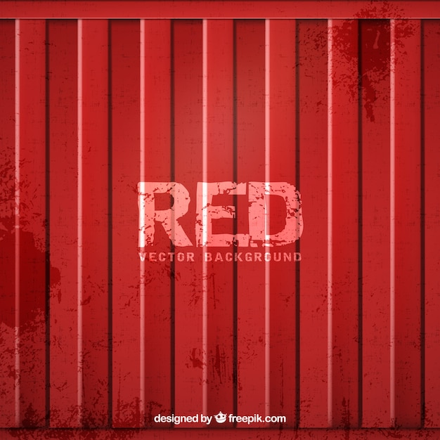 metallic red door background vector free download