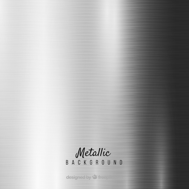 60623fc471fd Metallic silver background Vector