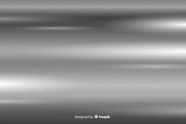 Metallic texture background with grey lines Free Vector