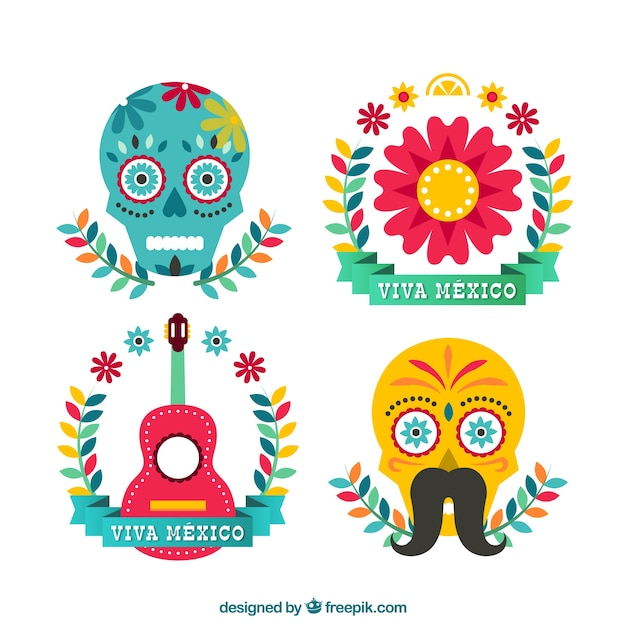 Mexican culture vector premium download for Mexican logos images