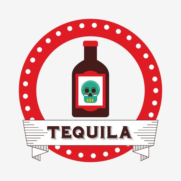 Mexican drinks design Premium Vector