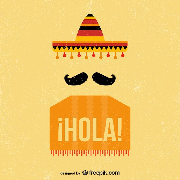 Spanish vectors photos and psd files free download mexican vintage background voltagebd Gallery