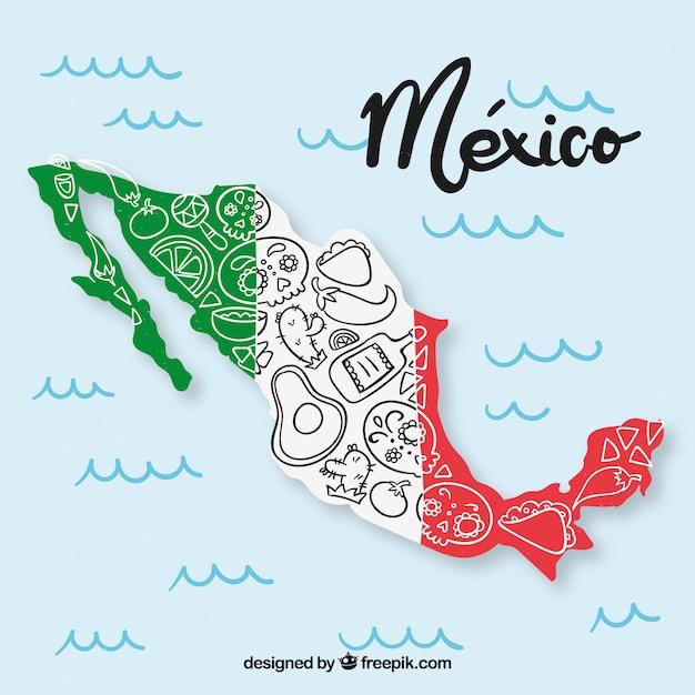 Mexico design Free Vector