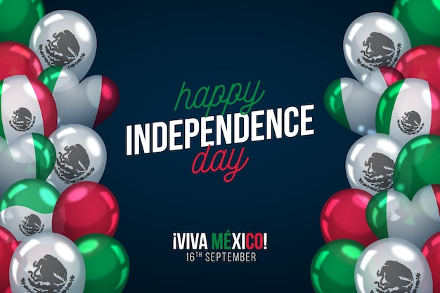 Mexico independence day Free Vector