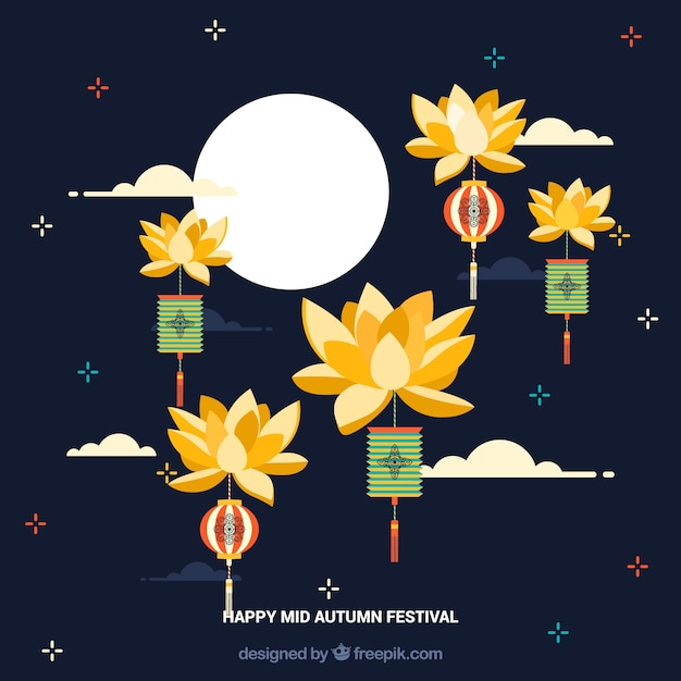 Middle autumn festival, nice background