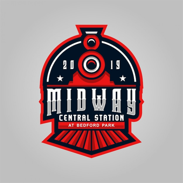 Midway central station Premium Vector