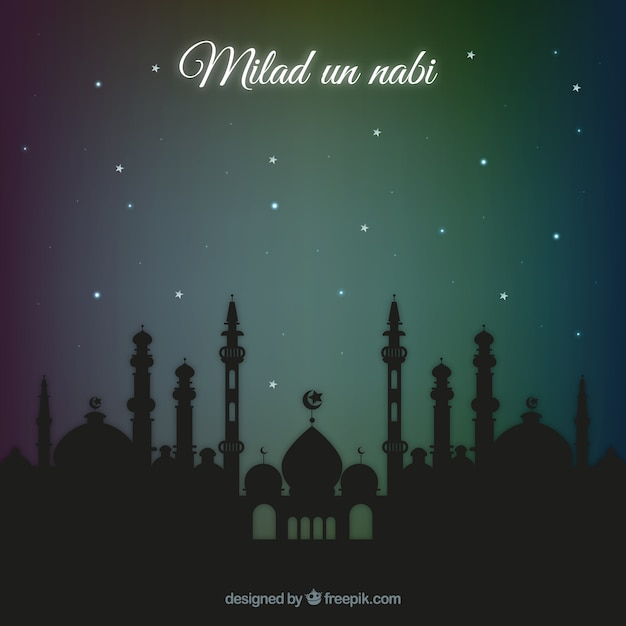 free vector milad un nabi background free vector milad un nabi background