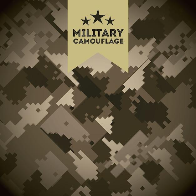 Military camouflage Premium Vector