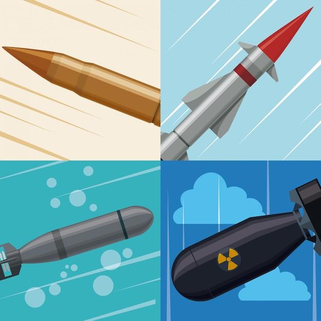Military forces design. Premium Vector