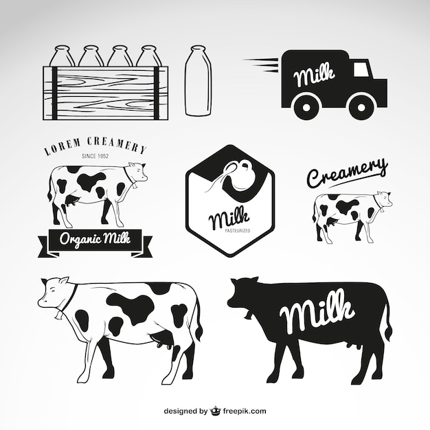 cow vector vectors  photos and psd files free download Old Truck Clip Art Black and White Monster Truck Clip Art Black and White