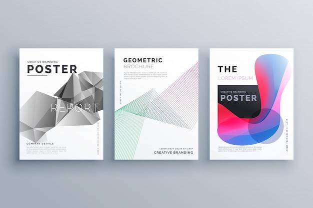 Minimal brochure templates Vector | Free Download