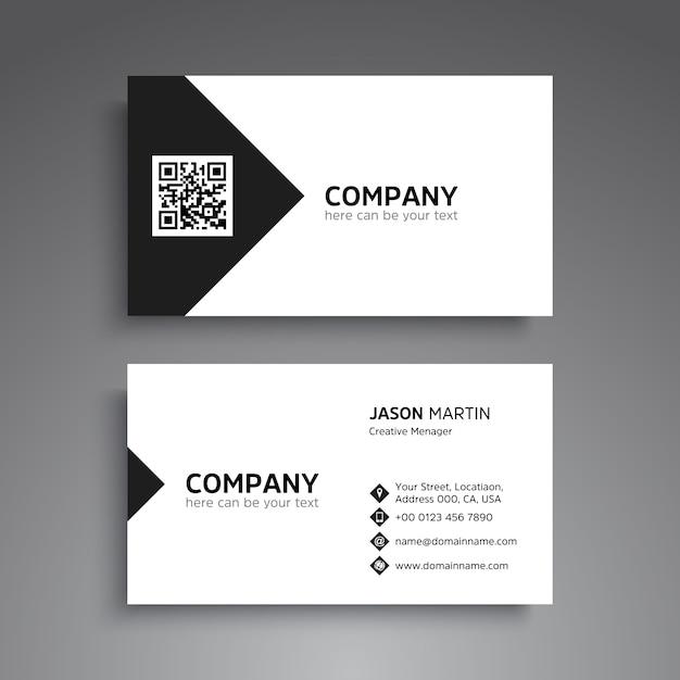 Minimal Business Card Design Vector Premium Download