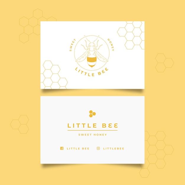 Minimal Business Card Template Psd File