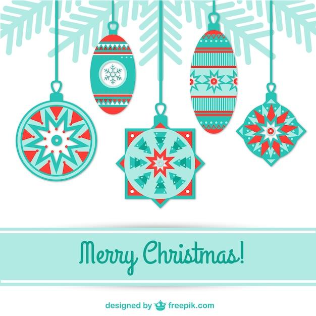 Minimal Christmas card