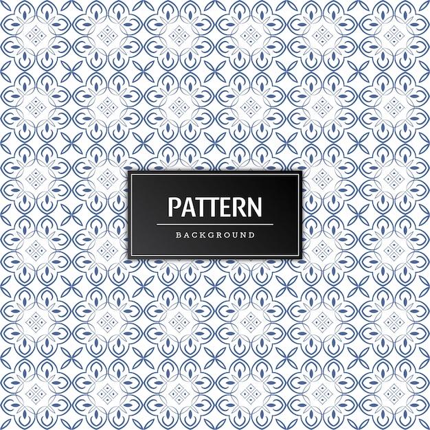 Minimal elegant seamless pattern background Free Vector