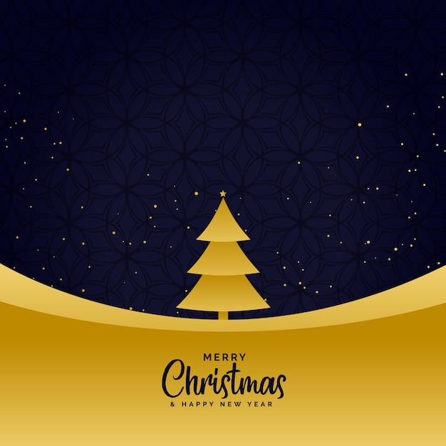 Minimal golden merry christmas greeting background vector free minimal golden merry christmas greeting background free vector m4hsunfo