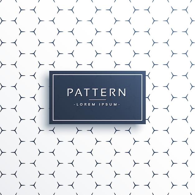 minimal pattern design background Free Vector