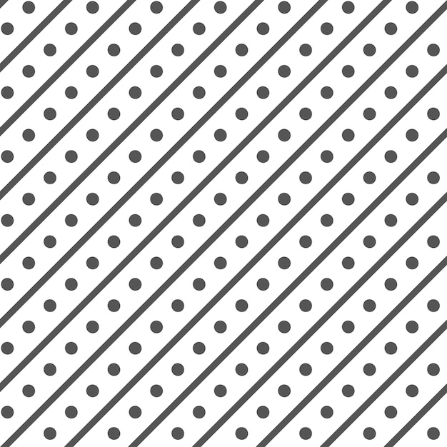 Minimal rhombus pattern with dots and diagonal lines