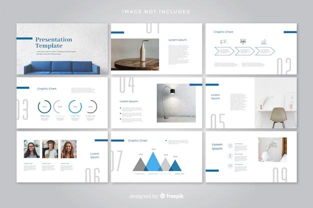 Minimalistic  Presentation Ideas