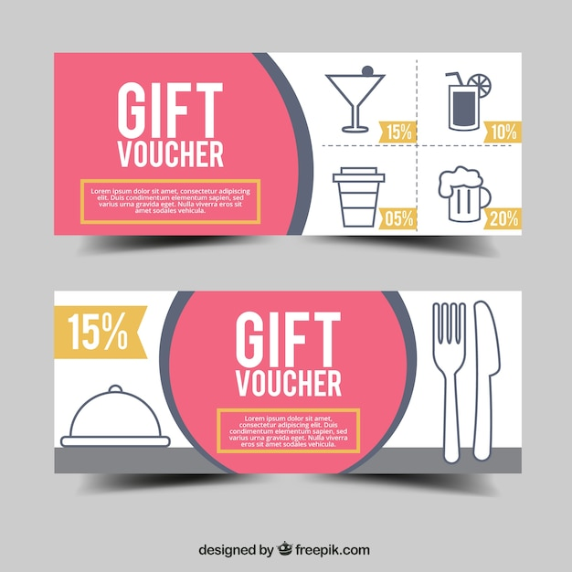 Minimal style gift voucher vector free download minimal style gift voucher free vector negle Choice Image